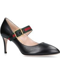 Gucci - Sylvie Mary Jane Pumps - Lyst