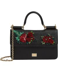 Dolce & Gabbana - Mini Leather Sicily Bag - Lyst