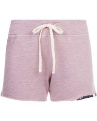 Sundry - Tri-colour Embroidered Shorts - Lyst
