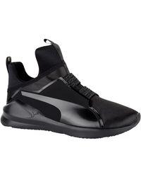 9c729d951584 PUMA - Fierce Satin En Pointe Training Shoes - Lyst