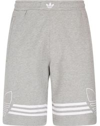 adidas Originals - Outline Sweat Shorts - Lyst