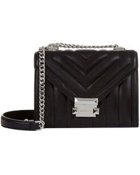 MICHAEL Michael Kors - Small Whitney Quilted Leather Shoulder Bag - Lyst