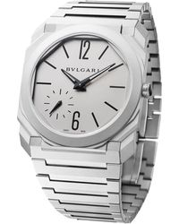 BVLGARI - Titanium Octo Finissimo Watch 40mm - Lyst