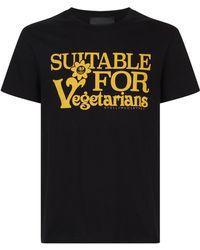 Stella McCartney - Vegetarian Print T-shirt - Lyst