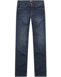 7 For All Mankind - Standard Luxury Cashmere Jeans - Lyst