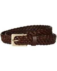 Tom Ford - Slim Woven Leather Belt - Lyst