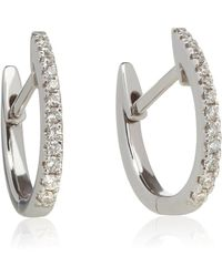 Annoushka - Eclipse Hoop Earrings - Lyst