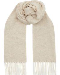 Eton of Sweden - Wool Herringbone Scarf - Lyst