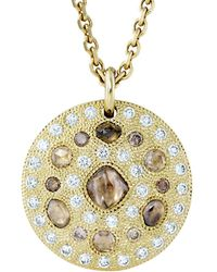 De Beers - Talisman 18ct Yellow-gold Large Medallion - Lyst