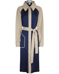 T By Alexander Wang - Deconstructed Trench Coat - Lyst