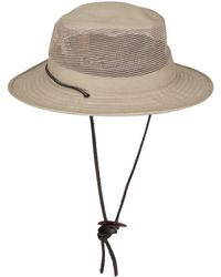 Stetson - Takani Mesh Top Drawstring Hat - Lyst