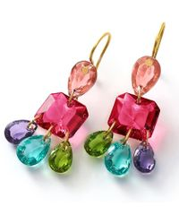 Baccarat - Mutlicolour 3 Tier Marie-hlne De Taillac Earrings - Lyst