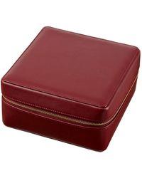 Stow - Elizabeth Leather Jewellery Case - Lyst