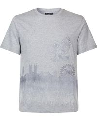 Stefano Ricci - London Skyline T-shirt - Lyst