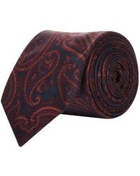 Pal Zileri - Paisley Silk Tie - Lyst