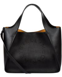 Stella McCartney - Stella Studded Logo Tote Bag - Lyst