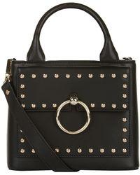 Claudie Pierlot | Small Studded Top Handle Bag, Black | Lyst