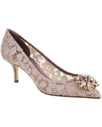 Dolce & Gabbana 60MM BELLUCCI FLORAL PATENT LEATHER PUMP XMBVcRc5