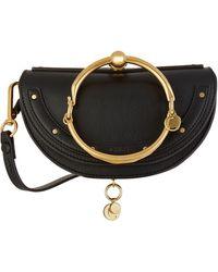 Chloé - Mini Leather Nile Bracelet Bag - Lyst