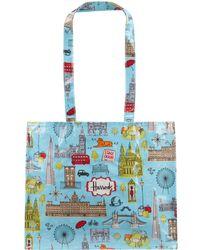 Harrods - London Map Shoulder Bag - Lyst
