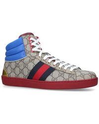 ec14097602b Lyst - Gucci Coda High-top Sneaker in White for Men