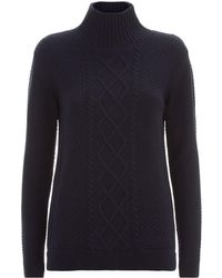 Barbour - Leith Roll Neck Sweater - Lyst