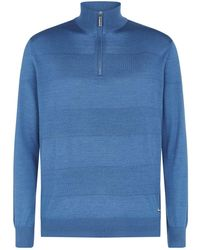 Stefano Ricci - Zip Neck Sweater - Lyst