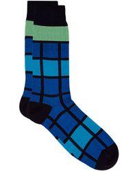Pantherella | Egyptian Cotton Patterned Socks | Lyst