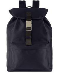 A.P.C. - Drawstring Satin Backpack - Lyst