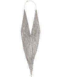 Marina Rinaldi - Rhinestone Pave Necklace - Lyst