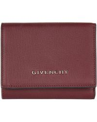 Givenchy - Pandora Leather Flap Wallet - Lyst