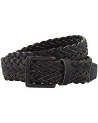 Harrods - Woven Leather Belt - Lyst