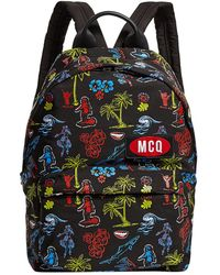 McQ - Tropical Backpack - Lyst