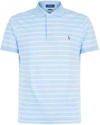 Polo Ralph Lauren - Slim Fit Striped Polo Shirt - Lyst
