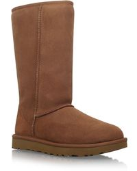 UGG - Tall Suede Boots - Lyst