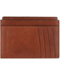 Brunello Cucinelli - Leather Card Holder - Lyst