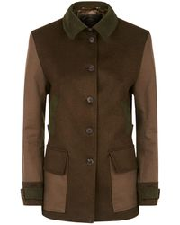James Purdey & Sons - Pea Collar Patch Jacket - Lyst