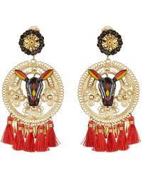 Mercedes Salazar - Carnival Bull Clip On Earrings - Lyst