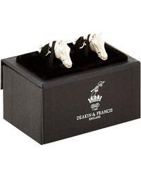 Deakin & Francis - Horse Head Cufflinks - Lyst