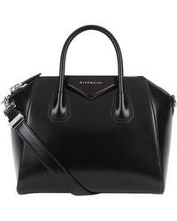 Givenchy - Small Antigona Smooth Leather Shoulder Bag - Lyst