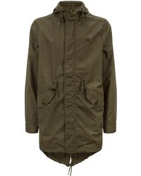 Fred Perry - Fishtail Parka Jacket - Lyst
