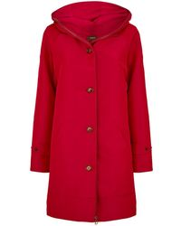 Akris - Double Layer Coat - Lyst