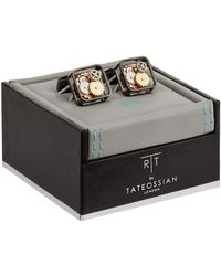 Tateossian - Square Gear Cufflinks - Lyst