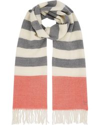 Barbour - Wester Stripe Scarf - Lyst