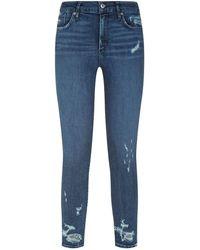 Agolde - Skinny Crop Jeans - Lyst