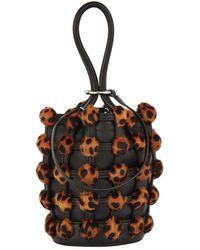 Alexander Wang - Leopard Bucket Bag - Lyst