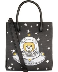 Moschino - Mini Space Teddy Tote Bag - Lyst