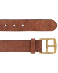 Polo Ralph Lauren - Suede Leather Belt - Lyst