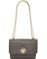 Elie Saab - Small Metallic Shoulder Bag - Lyst