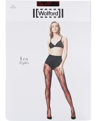 Wolford - Lea Lace Tights - Lyst